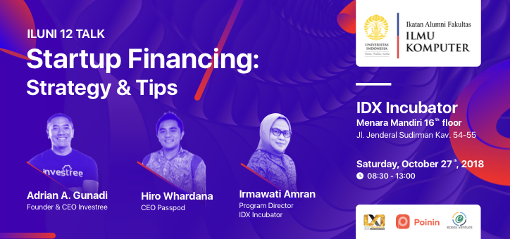 [ILUNI12.Talk] Startup Financing: Strategy & Tips